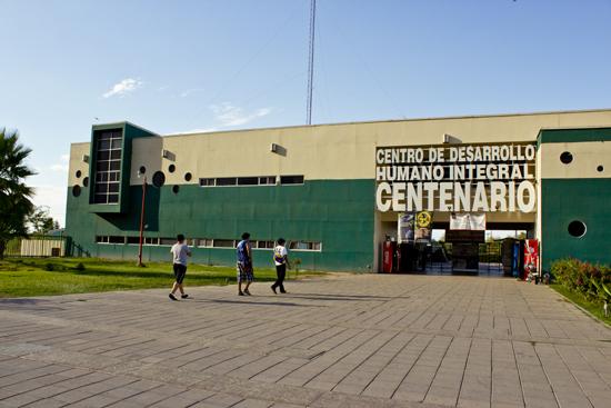 Parque Centenario en Mexicali