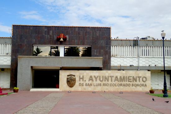 Palacio Municipal de San Luis Río Colorado