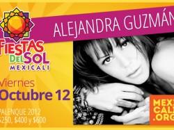 Alejandra Guzmán en Mexicali