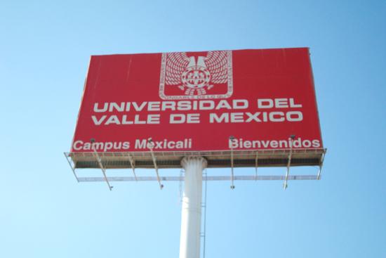 Universidad del Valle de México Campus Mexicali