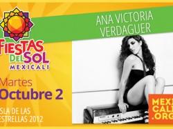 Ana Victoria Verdaguer en Mexicali