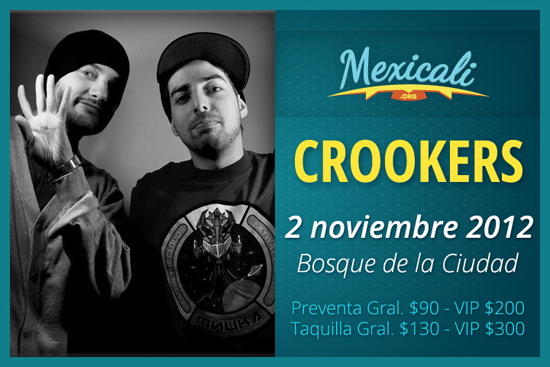 Crookers en Mexicali
