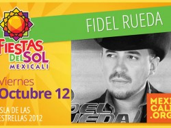 Fidel Rueda en Mexicali