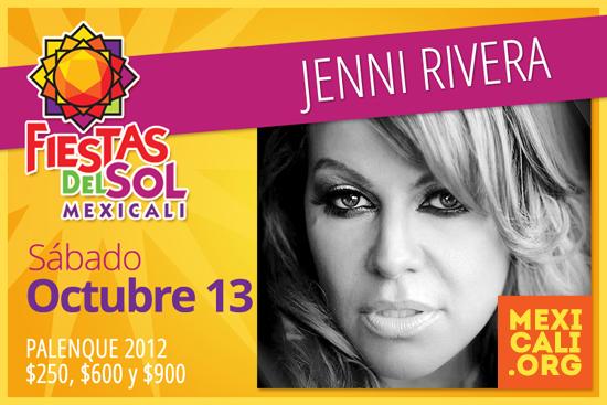 Jenni Rivera en Mexicali