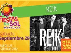 Reik en Mexicali 2012