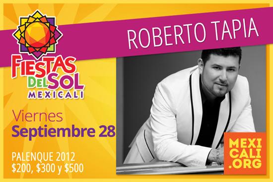 Roberto Tapia en Mexicali