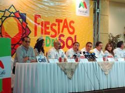Rueda de prensa Fiestas del Sol 2012
