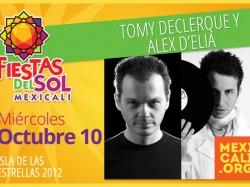 Tomy Declerque y Alex D´elia en Mexicali