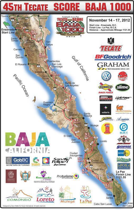 45th Tecate Score Baja 1000
