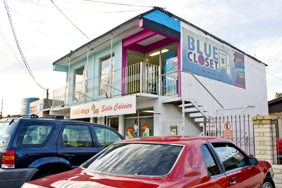 Blue Closet en Mexicali