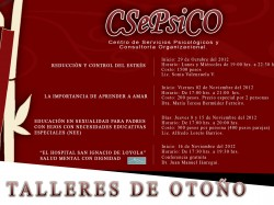 CSePsiCO: Talleres de Otoño