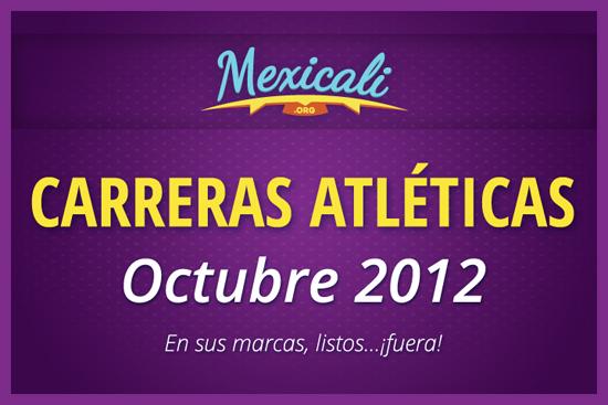 Carreras atléticas de octubre en Mexicali