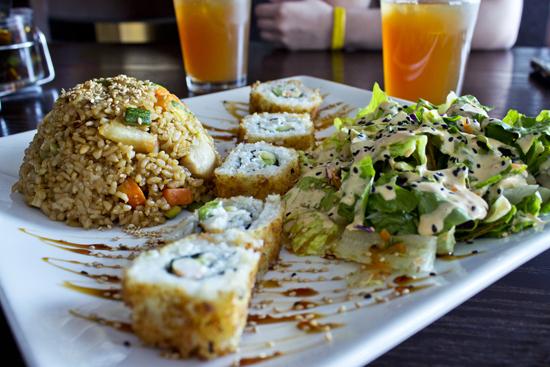 Platillo en combo de Misoho Sushi & Wine