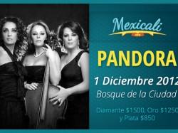 Pandora en Mexicali 2012