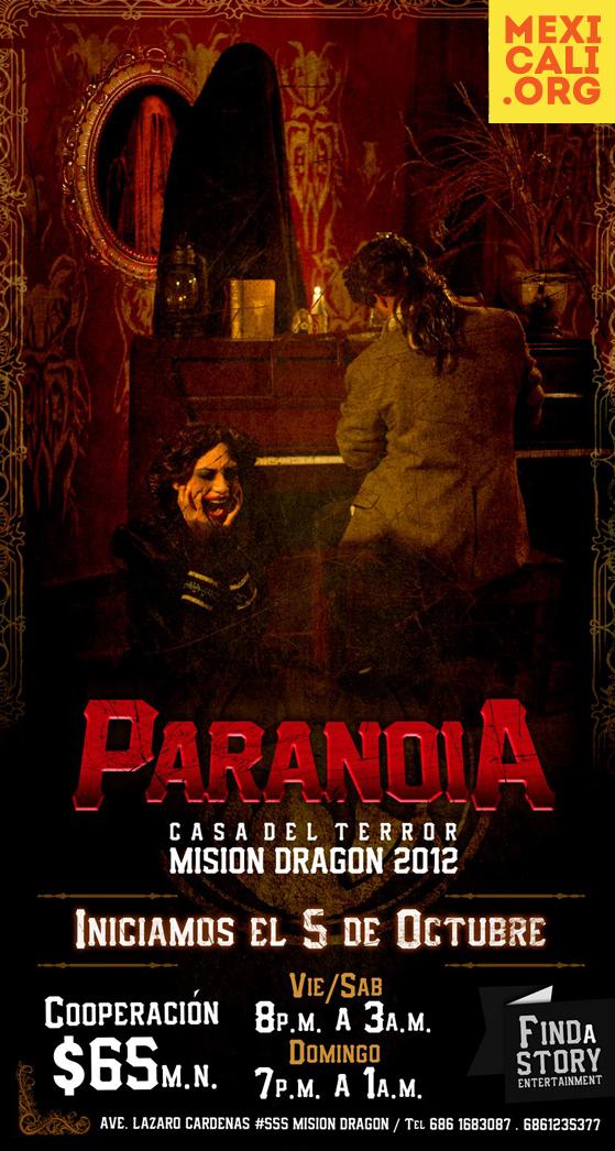 Paranoia Casa del Terror en Misión Dragón