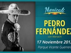 Pedro Fernández en Mexicali 2012