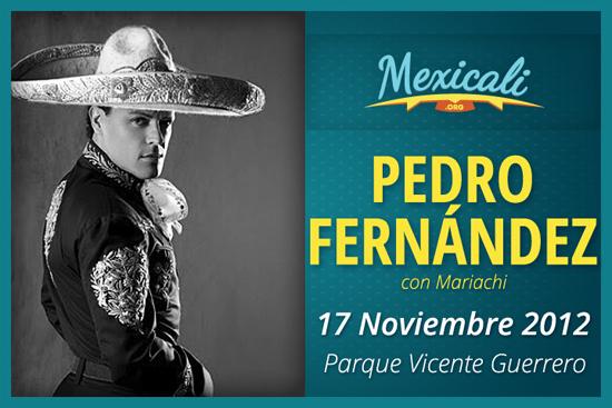 Pedro Fernández en Mexicali