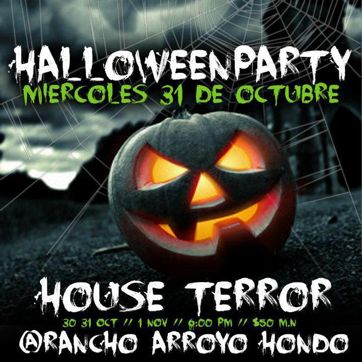 House Terror Rancho arroyo Hondo