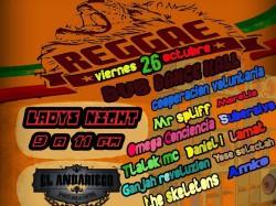 Reggae en El Andariego Bar