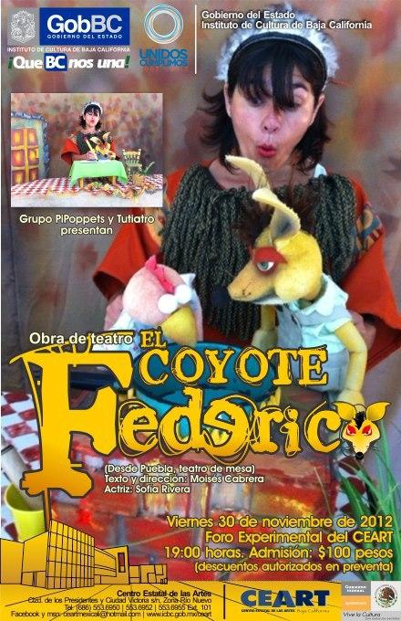 """Obra de teatro """"El coyote Federico"""""""