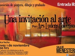 Una invitación al arte por Ars Ludens Colectivo
