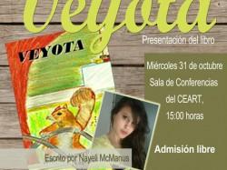 Presentación del libro Veyota