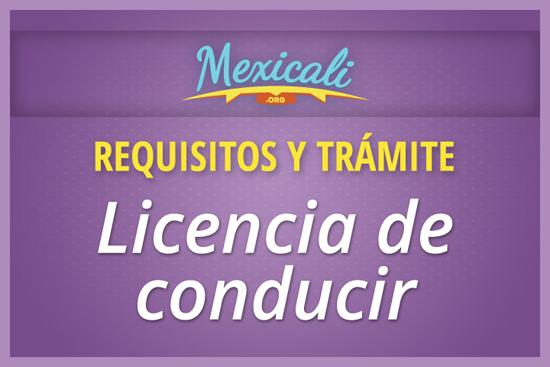 Requisitos y trámites para licencia de conducir en Mexicali