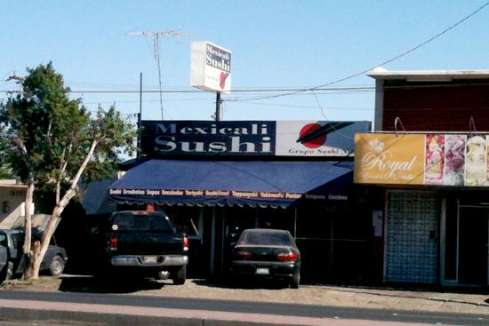 Mexicali Sushi