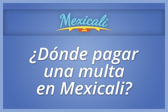 Foto de ¿Dónde pagar una multa en Mexicali?