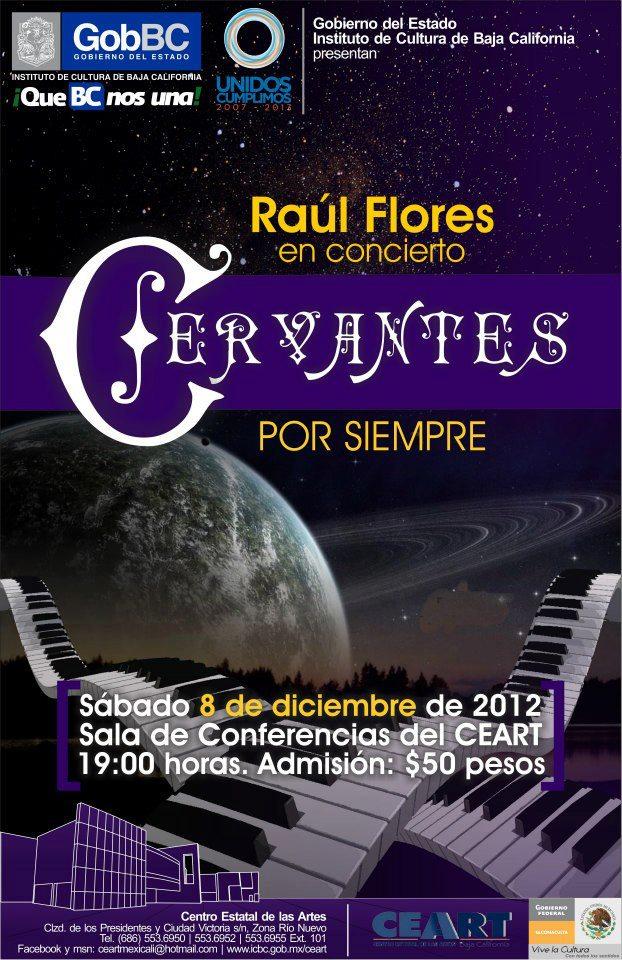 Raúl Flores en concierto