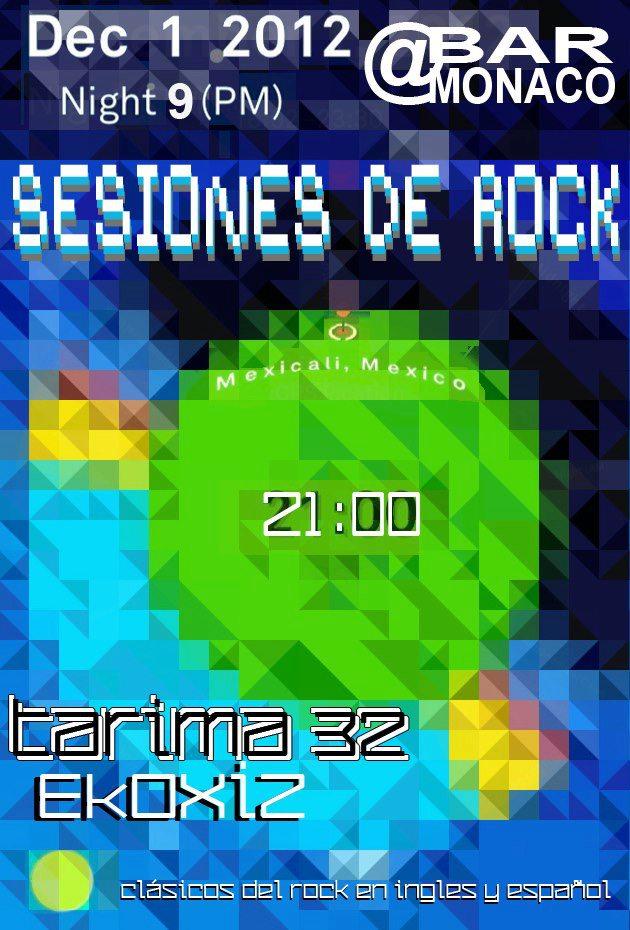 Sesiones de rock