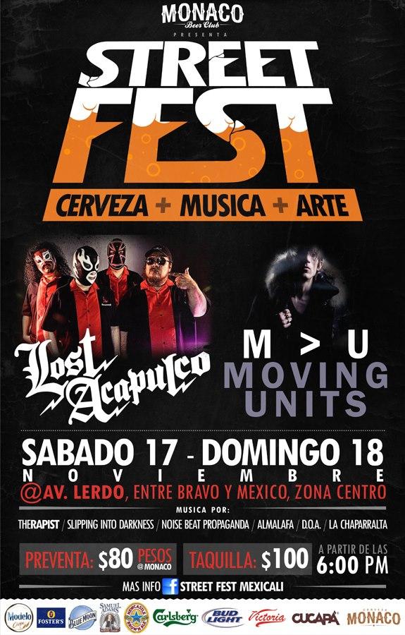 Street Fest en Mexicali