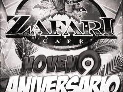 Zafari Café noveno aniversario