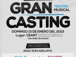 Casting para teatro musical