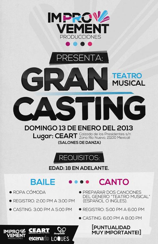 Casting de teatro en Mexicali