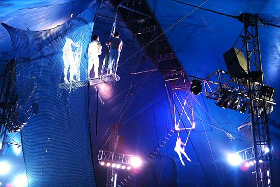 Trapecistas de Circo Rolex