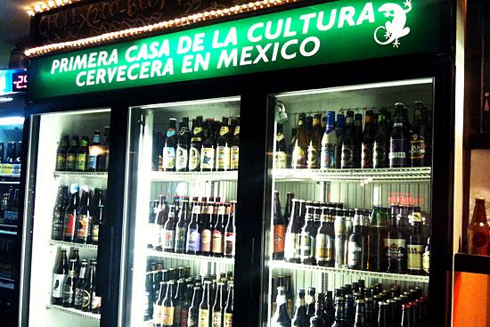 Cervezas en El Sume en Mexicali
