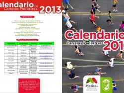 Carreras pedestres 2013 en Mexicali