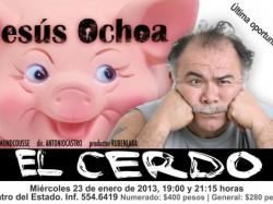Obra de teatro El Cerdo