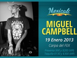 Miguel Campbell en Mexicali
