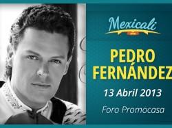 Pedro Fernández en Mexicali 2013