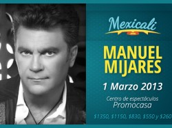 Mijares en Mexicali 2013