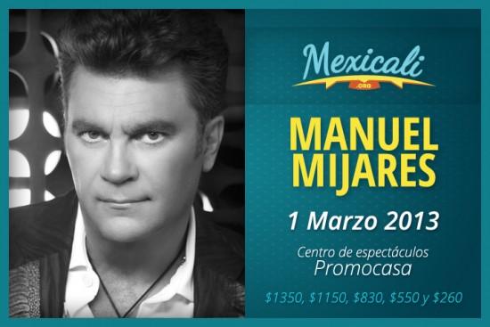 Manuel Mijares en Mexicali