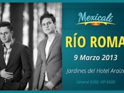 Río Roma en Mexicali 2013