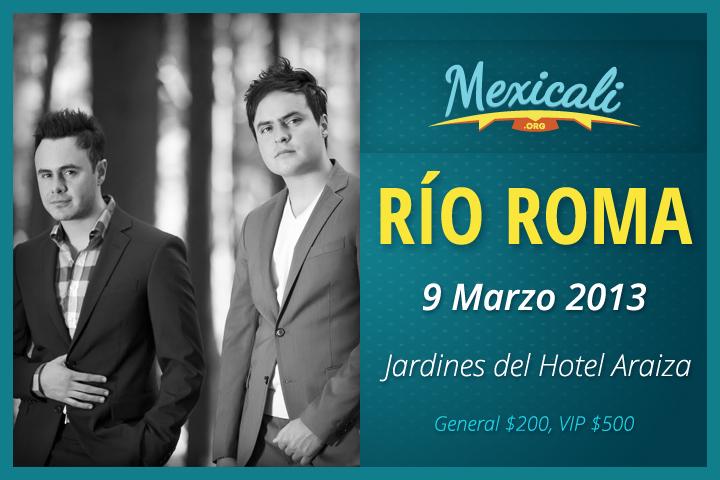 Río Roma en Mexicali