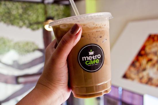 metro cafe bebida
