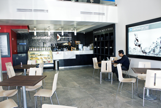 cafe punta del cielo mesas