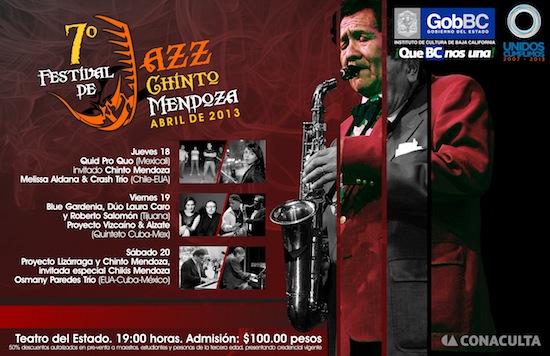 Festival de Jazz Chinto Mendoza en Mexicali