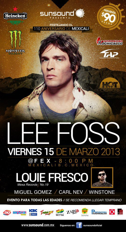Lee Foss en Mexicali