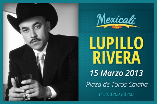 lupillo rivera en mexicali